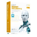 ESET Smart Security 6 Vollversion Mini Box 3 PC's 1 Jahr