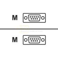Adapter seriell 9-pol. Stecker -> 9-pol. Stecker