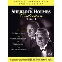 Die Sherlock Holmes Collection - Teil 4 (Neuauflage) (4 DVDs