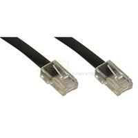 ISDN Anschlußkabel RJ45-St. - RJ45-St. 10m schwarz