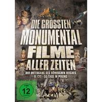 Die größten Monumentalfilme aller Zeiten (3 DVDs)
