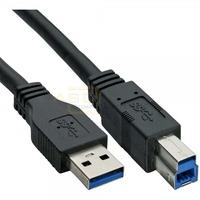 USB 3.0 Anschlusskabel A-Stecker -> B-Stecker 2m schwarz