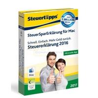 SteuerSparErklärung MAC 2017 (für Steuerjahr 2016)