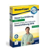 SteuerSparErklärung Lehrer 2017 (für Steuerjahr 2016)