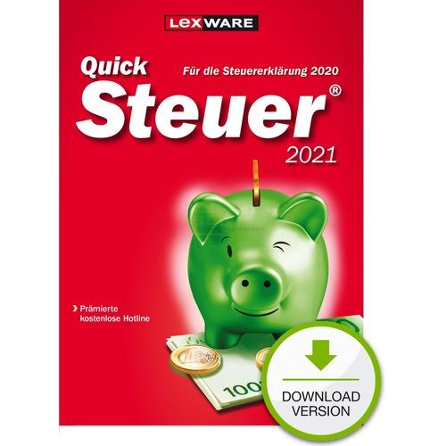 Lexware QuickSteuer 2021 ESD Steuerjahr 2020 (Download ...
